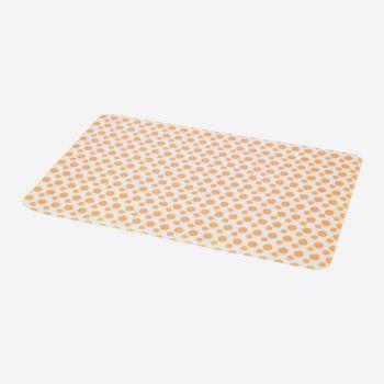 Point-Virgule set de table silicone orange 45x30cm