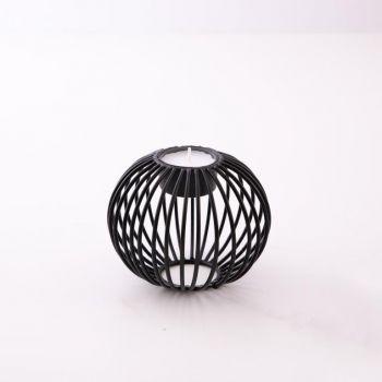 Point-Virgule Wire bougeoir pour bougie chauffe-platnoir ø 10.5cm H 9cm