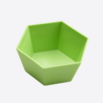 Point-Virgule 4x forme à cupcake hexagonale