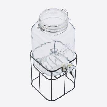 Point-Virgule distributeur de boisson avec support en métal 3.6L (par 4pcs)