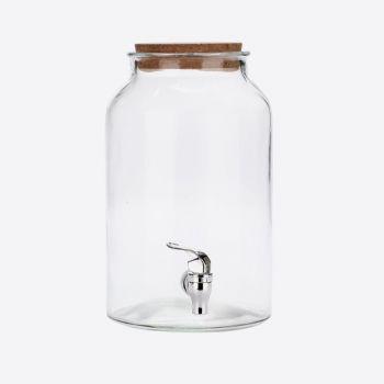 Point-Virgule distributeur de boisson avec bouchon de liège 5.6L (par 2pcs)