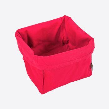 Point-Virgule corbeille à pain rouge 20x20x20cm