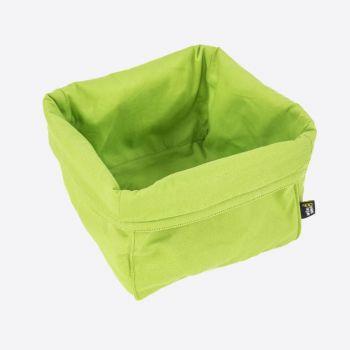 Point-Virgule corbeille à pain vert 20x20x20cm