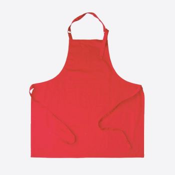 Point-Virgule tablier rouge 85x90cm