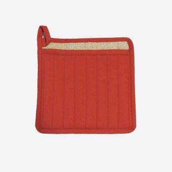 Point-Virgule manique rouge poivron 22x22cm (par 6pcs)