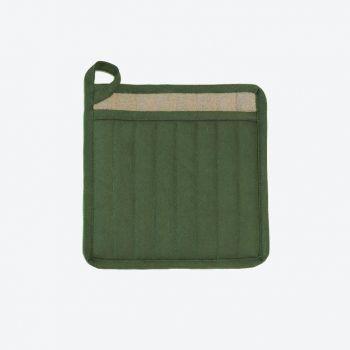 Point-Virgule manique vert aneth 22x22cm (par 6pcs)