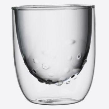 QDO Elements set de 2 verres double paroi Eau 210ml