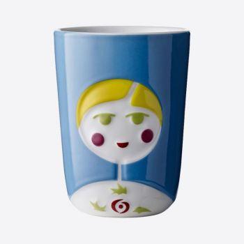 QDO Folklore tasse double paroi en porcelaine Sofia - Russie 210ml