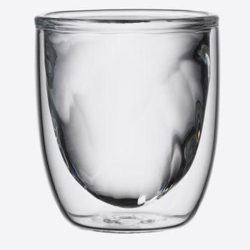 QDO Elements set de 2 verres double paroi Feu 75ml