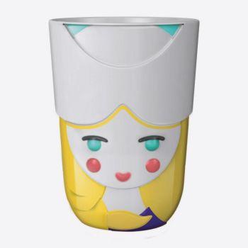 QDO Folklore tasse double-paroi en porcelaine Anna - Pays-Bas 210ml