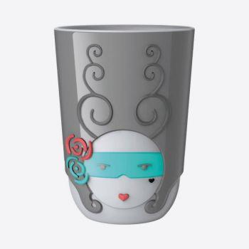 QDO Folklore tasse double-paroi en porcelaine Charlotte - France 210ml