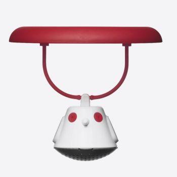 QDO infuseur à thé pour tasse Birdie Swing rouge Ø 9.5cm H 5cm