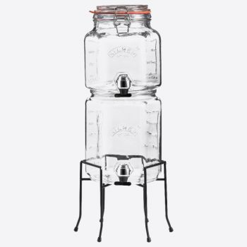 Kilner set de 2 distributeurs de boissons empilables avec support 2L & 3L (par 2pcs)