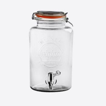 Kilner distributeur de boisson rond avec robinet 5L (par 2pcs)