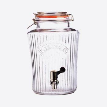 Kilner Vintage distributeur de boisson avec robinet 5L (par 2pcs)