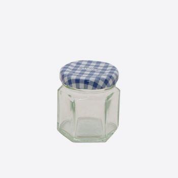 Kilner bocal en verre hexagonal avec couvercle à visser 48ml (12pcs/disp.)