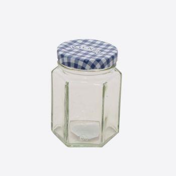 Kilner bocal en verre hexagonal avec couvercle à visser 110ml (12pcs/disp.)