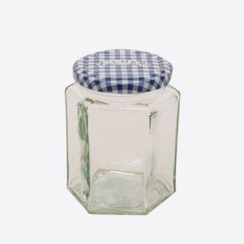 Kilner bocal en verre hexagonal avec couvercle à visser 280ml (12pcs/disp.)