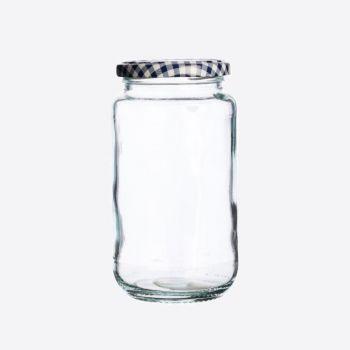 Kilner bocal en verre rond avec couvercle à visser 580ml (par 12pcs)