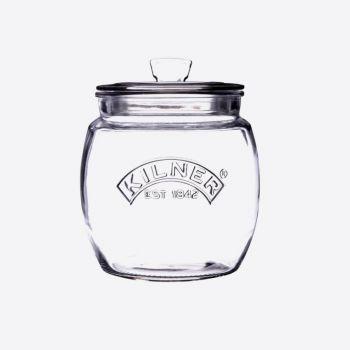 Kilner Universal bocal de conservation en verre avec couvercle push top 850ml