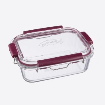 Kilner Fresh Storage boîte de conservation rectangulaire en verre 1.4L