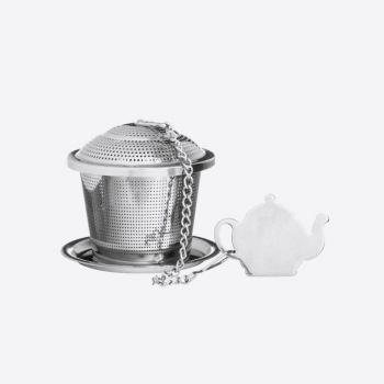 Price & Kensington Speciality infuseur à thé avec soucoupe en inox ø 5.5cm