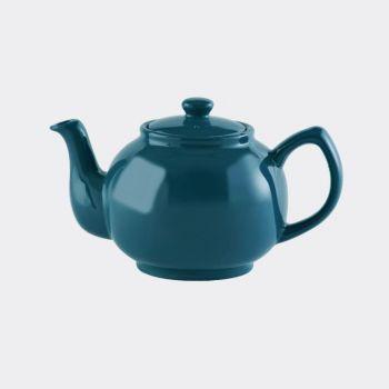 Price & Kensington théière 6 tasses brillante cyan 1.1L (par 3pcs)