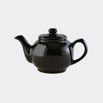 Price & Kensington théière 2 tasses brillante noir 450ml (par 3pcs)