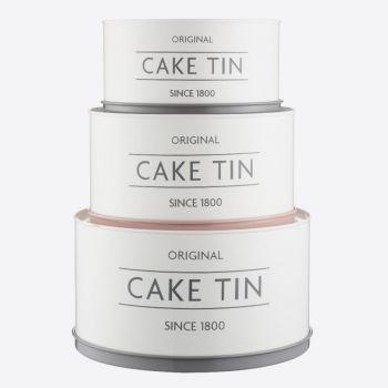 Mason Cash Innovative Kitchen set de 3 boîtes de conservation Cake Tin
