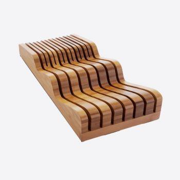 Robert Welch Signature bloc à couteaux pour tiroir en bambou 40x17.5x9.5cm
