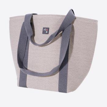 Rixx sac isotherme avec bandoulières gris 44x22x34cm