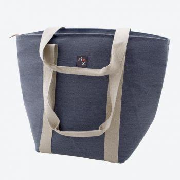 Rixx sac isotherme avec bandoulières bleu foncé 44x22x34cm