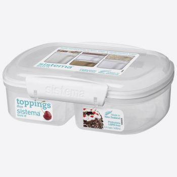 Sistema Bake It boîte à 2 compartiments Split 630ml (par 6pcs)