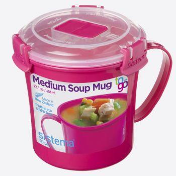 Sistema Microwave Colour tasse à soupe moyenne 656ml (6 ass.)