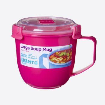 Sistema Microwave Colour grande tasse à soupe 900ml (4 ass.)
