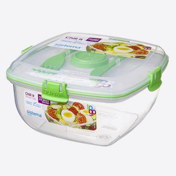 Sistema To Go bol à salade avec él. de refroidissement 1.63L (3 ass.)