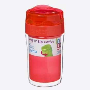 Sistema To Go petit gobelet à café Twist n Sip 315ml (6 ass.)