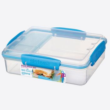 Sistema To Go boîte à lunch Snack Attack Duo 975ml (6 ass.)