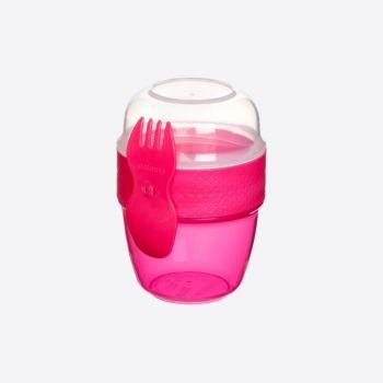 Sistema To Go boîte Snack Capsule avec cuillère/fourchette 515ml (6 ass.)