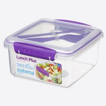 Sistema To Go boîte à lunch avec couvert Lunch Plus 1.2L (4 ass.)
