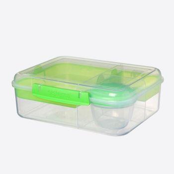 Sistema To Go Bento boîte à lunch 4 compart. & pot à yaourt 1.65L (4 ass.)