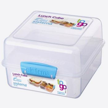 Sistema To Go boîte à lunch Cube 1.4L (4 ass.)