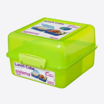 Sistema Vibe Lunch boîte à lunch Cube 1.4L vert