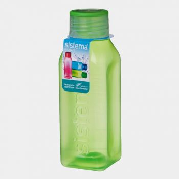 Sistema Hydrate bouteille carrée Square Bottle 475ml (6 ass.)