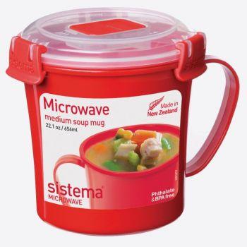 Sistema Microwave tasse à soupe moyenne 656ml (par 6pcs)