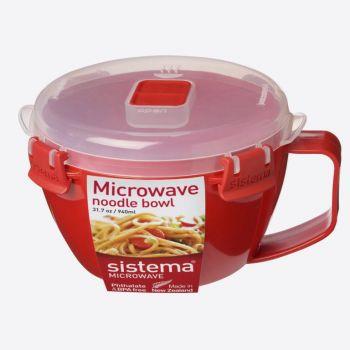 Sistema Microwave bol à nouilles 940ml (par 4pcs)
