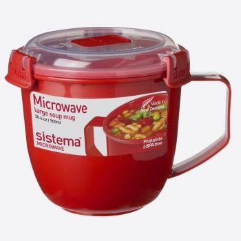 Sistema Microwave grande tasse à soupe 900ml (par 4pcs)