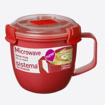 Sistema Microwave petite tasse à soupe 565ml (par 6pcs)
