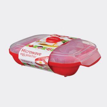 Sistema Microwave pocheuse à oeufs Egg Poacher (par 3pcs)