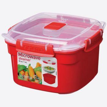 Sistema Microwave petit cuiseur vapeur 1.4L (par 4pcs)